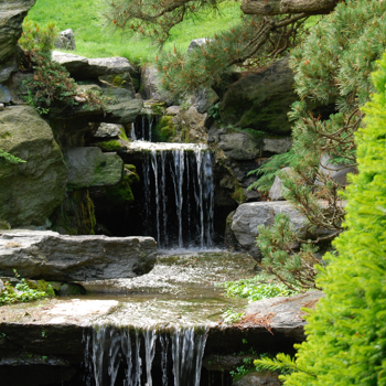 Water flowing, metaphor for Reiki Healing and Teaching